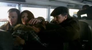 Fringe S4x12 - Seeking escape on the school bus