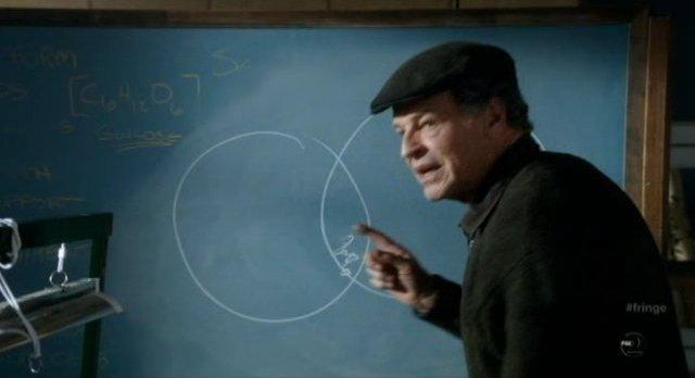 Fringe S4x12 - Walter illustrates the theory