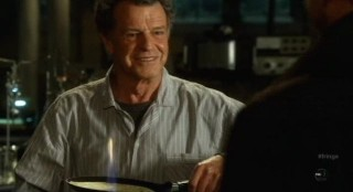 Fringe S4x12 - Walter is happy cooking crepes