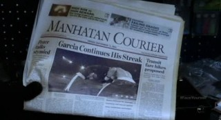 Fringe S4x17 - The holographic newspaper
