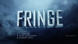 Fringe Letters of Transit Futuristic Banner - Learn more at FOX Broadcasting