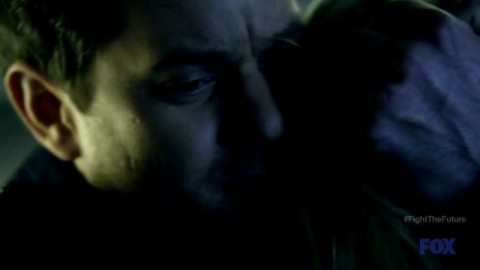 Fringe S4x19 - Peter and Etta hug each other