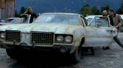 Fringe S5x03 - The cool ancient station wagon