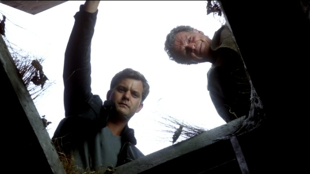 Fringe S5x02 - Peter and Walter opening the tunnel