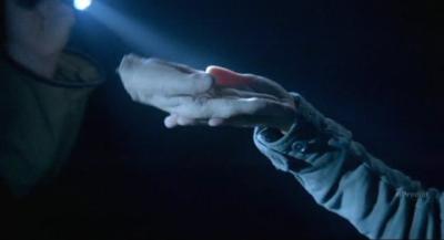 Fringe S5x07 - William Bell's severed hand