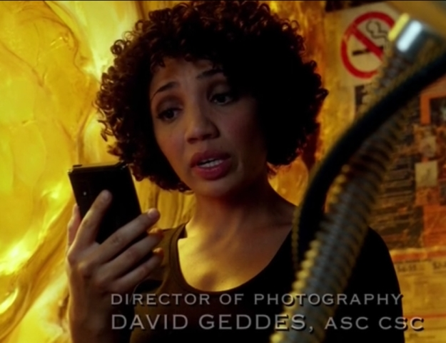 Fringe S5x05 - Astrid drops the news about the Ambered video tapes to the team