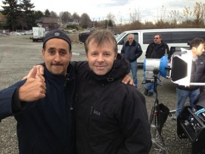 2012 - Fringe - Final moments on set with Tobias and Lou