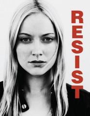 Fringe S5x08 - Resist banner poster - Georgina Haig as Etta