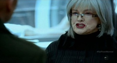 Fringe S5x10 - Nina compares The Observers to unfeeling reptiles