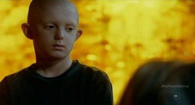 Fringe S5x10 - Rowan Longworth as Michael the Child Observer Michael