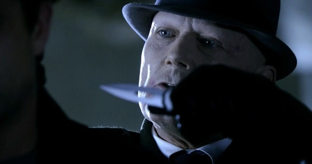Fringe S5x08 - Windmark almost got there to kill him, almost because he does not have the Bishop blood