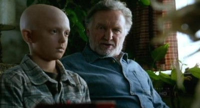 Fringe S5x09 - Michael the child Observer is found as a result of Walter's Black Blotter LSD trip