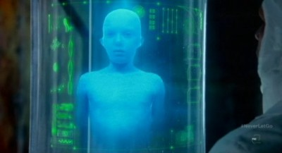 Fringe S5x11 - Michael's growth had been halted by the fascist Observers of 2609