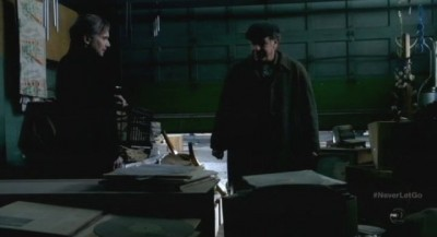 Fringe S5x11 - September and Walter gather the parts for the reset time device