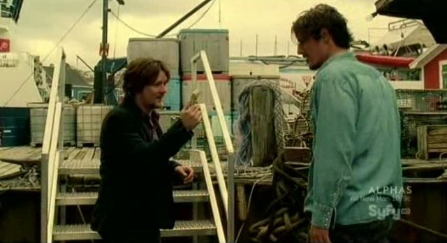 Haven S2x02 - Ian offers a bribe to Duke