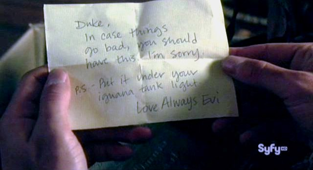 Haven S2x11 - A note from Evi
