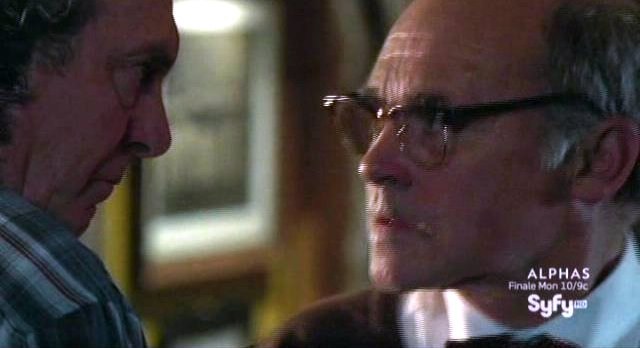 Haven S2x11 - Dave and Vince go eye to eye