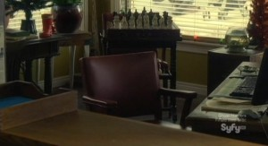 Haven S2x13 - Daves empty chair