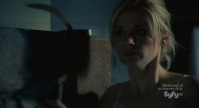 Haven S3x01 - Audrey escapes armed and dangerous
