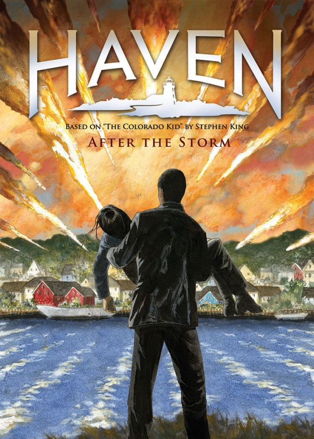 Haven 2013 - Comic book cover - Click to learn more at Syfy!