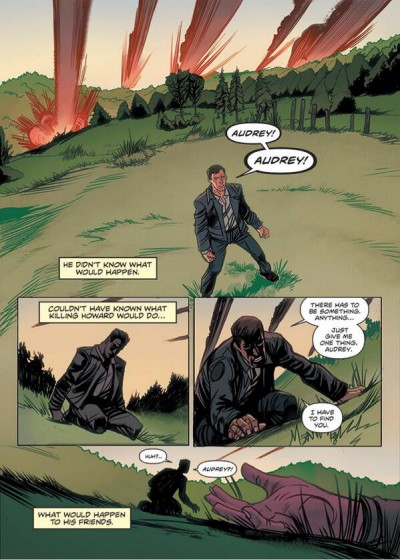 Haven - After the Storm Comic included with season 3 DVD