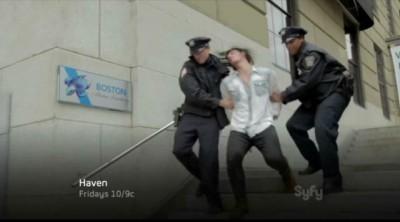 Haven S4x01 - Duke is arrested in Boston