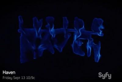 Haven S4x01 - Inside Haven title slide wormhole banner