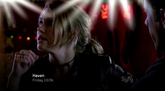 Haven S4x04 - Lexie realizes she must escape the bar barn like William has said
