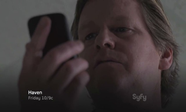 Haven S4x06 - Our Trouble citizen Peter Krebs starts the countdown