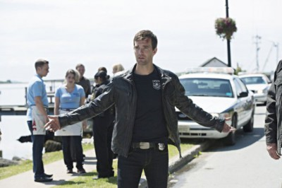 """Haven S4x05 - No Pancakes with Lexie for Nathan -- """"The New Girl"""" Episode 405 -- Pictured: -- (Photo by: Michael Tompkins/Syfy)"""