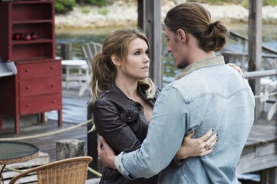 """Haven S4x05 - The Audrey and Duke friendship has returned """"The New Girl"""" Episode 405 -- Pictured: -- (Photo by: Michael Tompkins/Syfy)"""