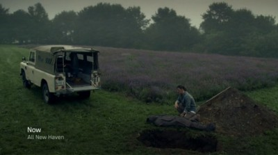 Haven S4x08 - Duke is burying his brother Wade