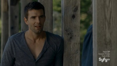 Haven S4x08 - Nathan says Phil Collins - Vince says its the Supreme's