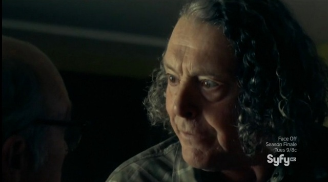 Haven S4x08 - Vince says to Dave It's a Trouble Chicken Little regarding Carrie Bensen's her trouble becoming contagious