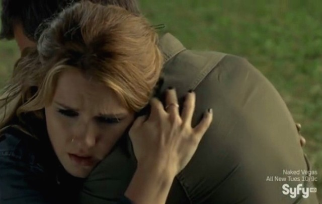 Haven S4x09 - Audrey gets a big hug from Nathan