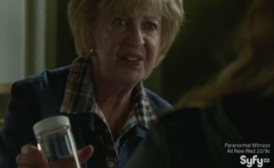 Haven S4x09 - Gloria tells Audrey and Nathan she found Troubles bug in dead peoples heads