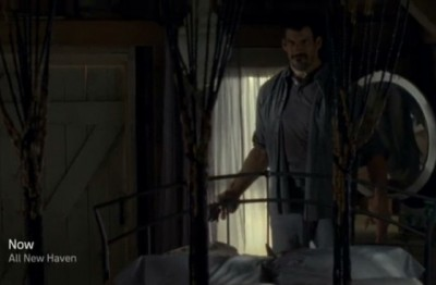 Haven S4x09 - Mr Heavy shows up in the bedroom