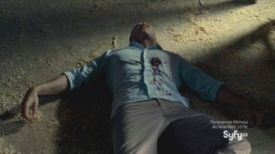 Haven S4x10 - William is shot by Nathan back in our reality