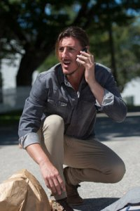 Haven S4x08 Duke calls for help to stop the Crush! -- Photo by: Michael Tompkins/Syfy