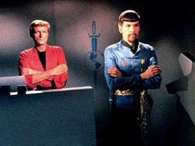 Star Trek - Mirror, Mirror - Altered Mr Kyle and Mr Spock