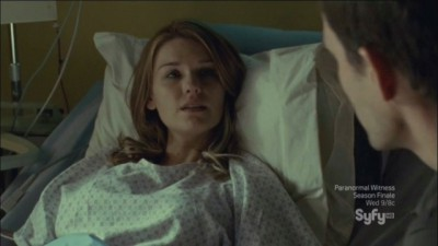 Haven S4x11 - Audrey wakes to discuss her connection to William