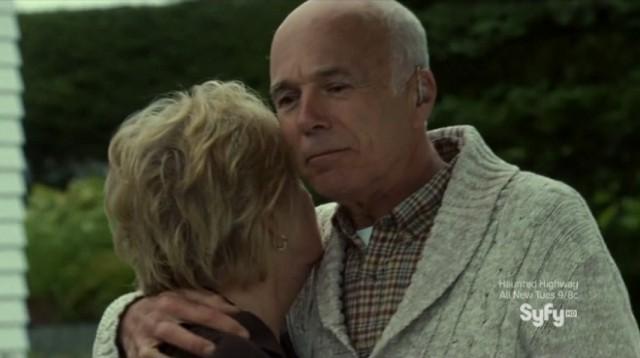 Haven S4x12 - Michael Hogan as Gloria's boyfriend
