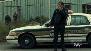 Haven S4x12 - Stan the Cop secures the perimeter of the hideout