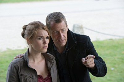Haven S4x12 - Evil William is out to get Audrey to create The Troubles!