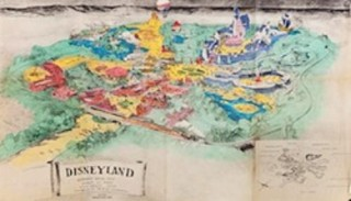 Profiles In History Animation Auction Disneyland Prospectus Map - Click to learn more at Profiles in History!
