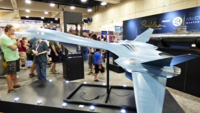 SDCC 2015 X-Men Jet by McCune Masterworks