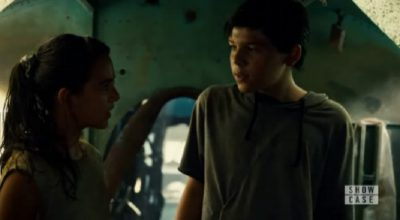 Incorporated S1x02 Young Ben aka Aaron in the with Elena in the FEMA camp
