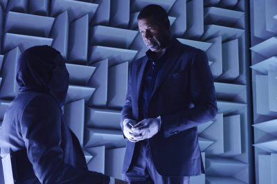 Incorporated S1x01 Julian demands answers in the Quiet Room
