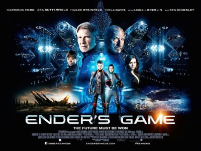 Ender's Game banner poster - Click to learn more at the official web site!