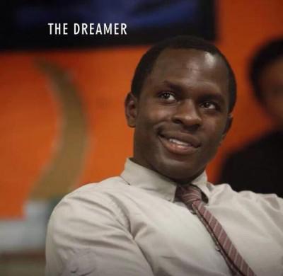 Jack Hall portrayed by Gbenga Akinnagbe